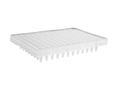 Axygen® 96-Well Polypropylene PCR Microplate Compatible with ABI, Semi-Skirted, Clear, Nonsterile