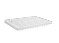 Axygen® 96-well Polypropylene PCR Microplate Compatible with ABI, Low Profile, Half Skirt, White, Nonsterile