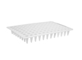 Axygen® 96-well Polypropylene Flat Top PCR Microplate, Low Profile, No Skirt, White, Nonsterile