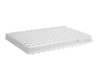 Axygen® 96 Well Polypropylene PCR Microplate with Bar Code, Full Skirt, Clear, Nonsterile