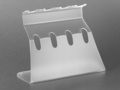 Axygen® Universal Linear Stand for Four Pipettors, Transparent