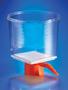 Corning® 1000 mL Bottle Top Vacuum Filter, 0.22 µm Pore 54.5cm² CA Membrane, Fits 45 mm Diameter Necks, Sterile, 12/Case