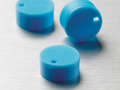 Corning® Blue Polypropylene Cryogenic Vial Cap Inserts