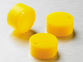 Corning® Yellow Polypropylene Cryogenic Vial Cap Inserts