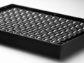 Corning® 96-well Black/Clear Round Bottom Ultra-Low Attachment Surface Spheroid Microplate, Bulk Packed, with Lid, Sterile, 10/Bag