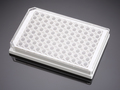 Falcon® 96-well White/Clear Flat Bottom TC-treated Microplate, with Lid, Sterile, 8/Pack, 32/Case