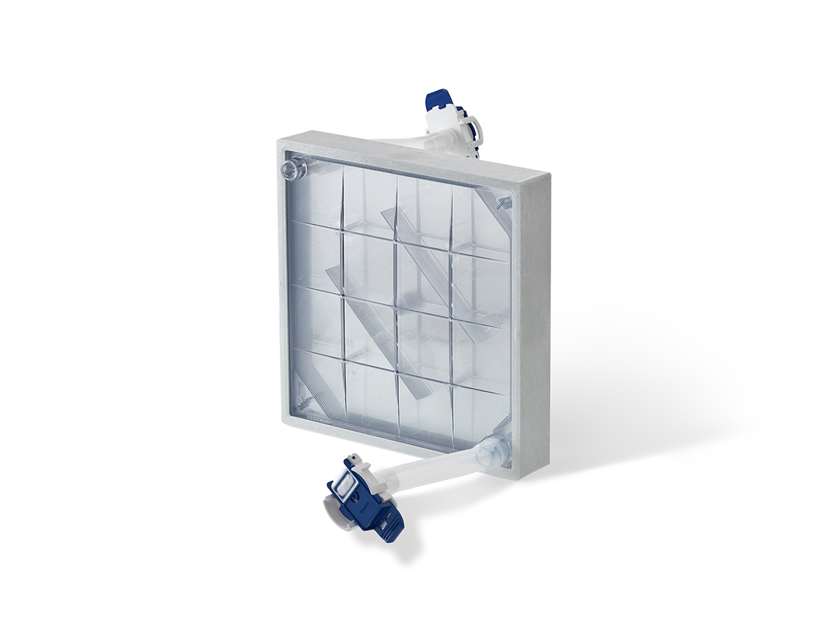 10-Layer CellCube® Module with 8,500 cm² Growth Surface and Aseptic Connectors