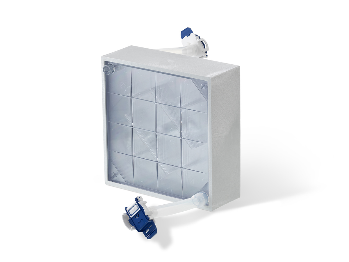 25-Layer CellCube® Module with 21,250 cm² Growth Surface and Aseptic Connectors