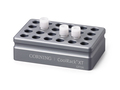 "Corning® CoolRack XT CFT24, Holds 24 Cryogenic vial or FACS Tubes, with ""Gripping"" Wells for One-hand Vial Opening/Closing"