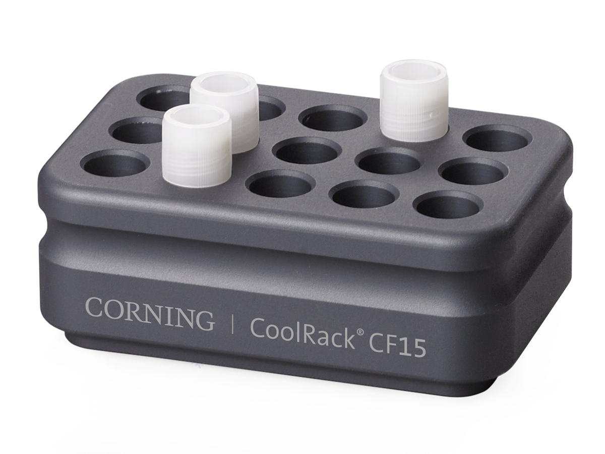 Corning® CoolRack® CF Cryogenic Vial and FACS Tube Modules