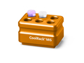 Corning® CoolRack M6, Holds 6 x 1.5 or 2 mL Microcentrifuge Tubes, Orange