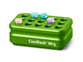Corning® CoolRack M15, Holds 15 x 1.5 or 2 mL Microcentrifuge Tubes, Green