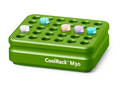 Corning® CoolRack M30, Holds 30 x 1.5 or 2 mL Microcentrifuge Tubes, Green