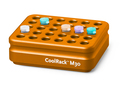 Corning® CoolRack M30, Holds 30 x 1.5 or 2 mL Microcentrifuge Tubes, Orange