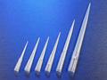 Corning® DeckWorks 0.1 - 10 µL Low Binding Pipet Tips, Graduated, Hinged Racks, Natural, Nonsterile, Polypropylene, 96 Tips/Rack, 10 Racks/Pack, 4 Packs/Case