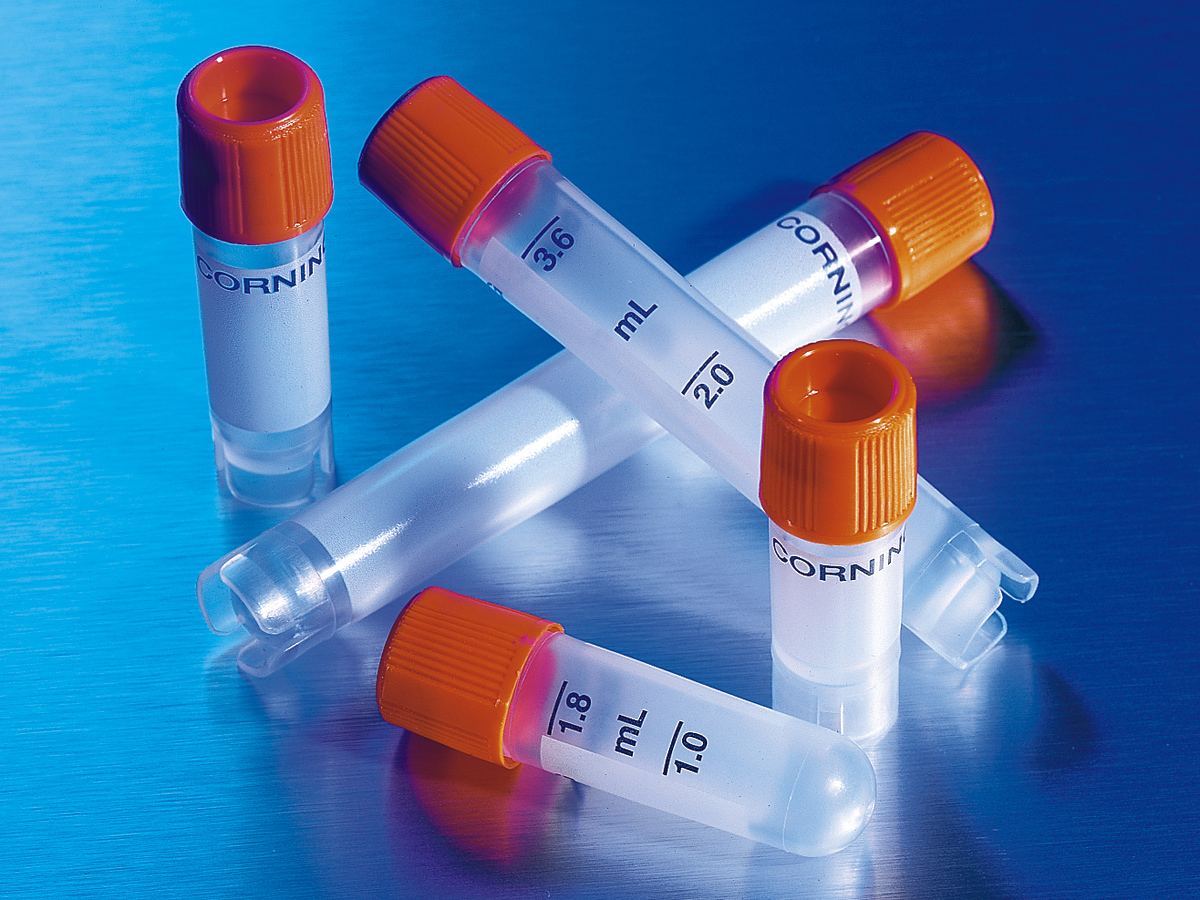Corning® External Thread Cryogenic Vials
