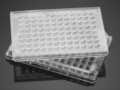 Corning® FluoroBlok™ HTS 96-well Multiwell Permeable Support System with 8.0 µm High Density PET Membrane, Sterile, 5/Case