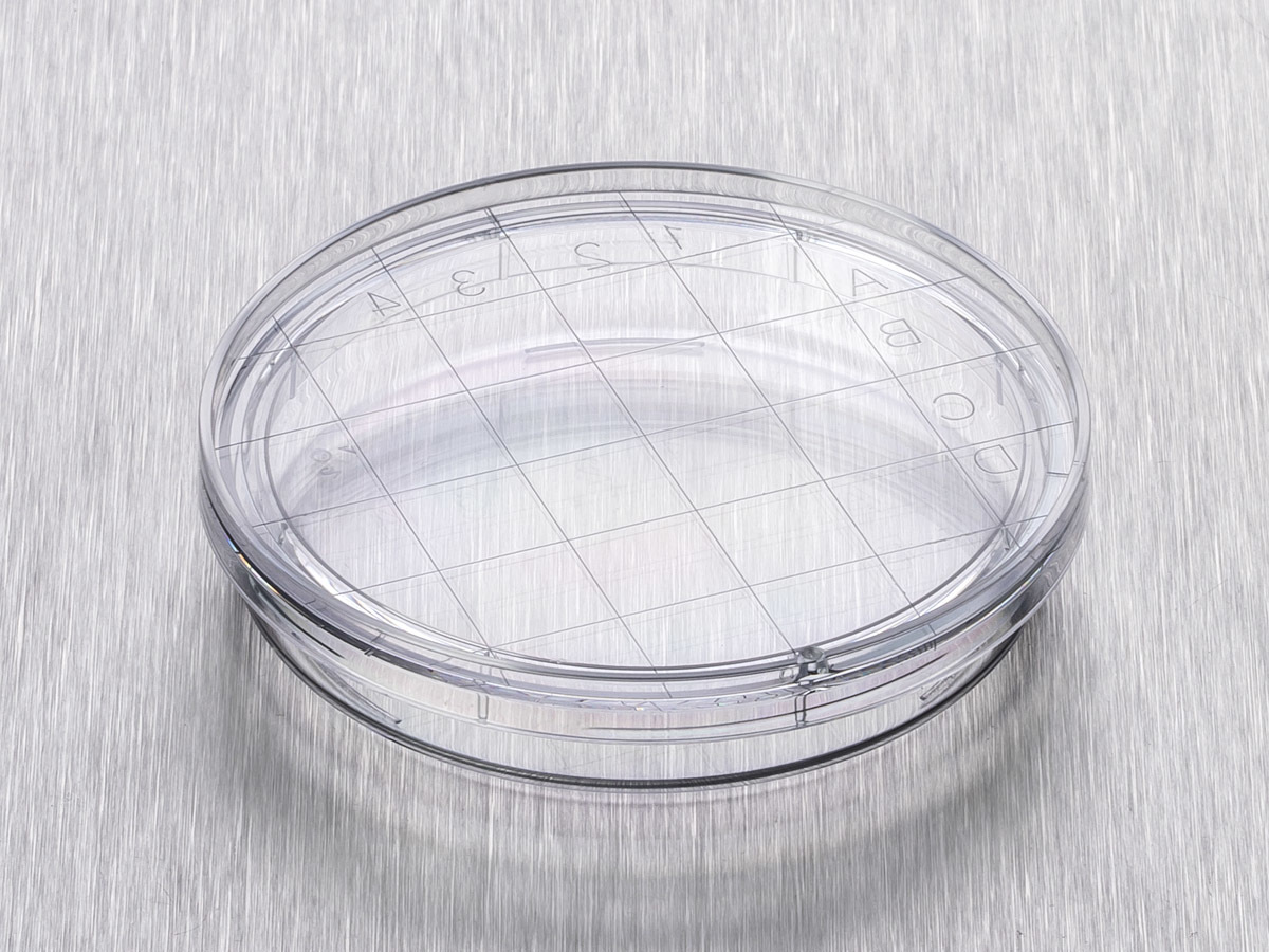 Corning® Gosselin™ Contact Dish, 3 Vents, Sterile, Double Outer Bag, 20/Bag, 720/Case