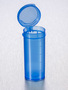 Corning® Gosselin™ Straight Container, 50 mL, Blue PP, Graduated, Blue Hinged cap, 650/Case