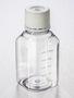 Corning® Gosselin™ Octagonal PET Bottle, 250 mL, Graduated, 31 mm Tamper-evident Cap, Sterile, Pre-Assembled, 24/Tray, 144/Case