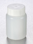 Corning® Gosselin™ Round HDPE Bottle, 100 mL, 37 mm White Cap with Seal, Assembled, 335/Case