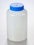 Corning® Gosselin™ Round HDPE Bottle, 1 L, 58 mm Blue Cap, Assembled, 68/Case