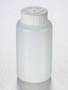 Corning® Gosselin™ Round HDPE Bottle, 250 mL, 37 mm White Cap with Seal, Assembled, 145/Case