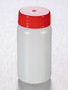 Corning® Gosselin™ Round HDPE Bottle, 50 mL, 27 mm Red Cap with Wad, Assembled, Sterile, 600/Case