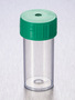 Corning® Gosselin™ Straight Container, 40 mL, PP, Green Screw Cap, Assembled, 100/Bag, 1000/Case