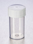 Corning® Gosselin™ Straight Container, 60 mL, PP, White Screw Cap, Assembled, 70/Bag, 700/Case