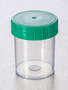 Corning® Gosselin™ Straight Container, 125 mL, PP, Green Screw Cap, Assembled, 380/Case