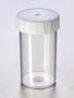 Corning® Gosselin™ Straight Container, 180 mL, PP, White Screw Cap, Assembled, Sterile, 264/Case