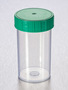 Corning® Gosselin™ Straight Container, 180 mL, PP, Green Screw Cap, Assembled, 264/Case