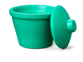 Corning® Ice Bucket with Lid, Round, 4L, Green
