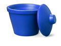 Corning® Ice Bucket with Lid, Round, 4L, Blue