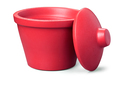 Corning® Ice Bucket with Lid, Round, 4L, Red