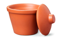 Corning® Ice Bucket with Lid, Round, 4L, Orange