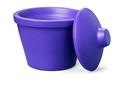 Corning® Ice Bucket with Lid, Round, 4L, Purple