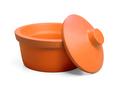 Corning® Ice Bucket with Lid, Round, 2.5L, Orange