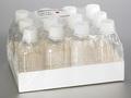 Corning® 500 mL Octagonal PET Storage Bottles with 31.7 mm Screw Caps, Sterile