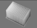 Axygen® 96-well Clear Round Bottom 2.2 mL Polypropylene Deep Well Plate, 5 per Pack, Nonsterile