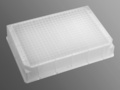 Axygen® 384-well Clear V-Bottom 240 µL Polypropylene Deep Well Not Treated Plate, 5 per Pack, Sterile