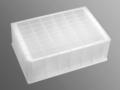Axygen® 48-well Clear V-Bottom 5 mL Polypropylene Rectangular Well Deep Well Plate, 5 per Pack, Sterile