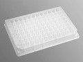 Axygen® 96-well Clear Round Bottom 550 µL Polypropylene Deep Well Plate, 10 per Pack, Nonsterile