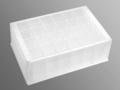 Axygen® 24-well Clear V-Bottom 10 mL Polypropylene Rectangular Well Deep Well Plate, 5 per Pack, Sterile