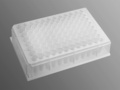Axygen® 96-well Clear V-Bottom 600 µL Polypropylene Deep Well Plate, 5 per Pack, Nonsterile