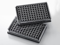 Falcon® 96-well Black Flat Bottom TC-treated Microplate, with Lid, Sterile, 8/Pack, 32/Case