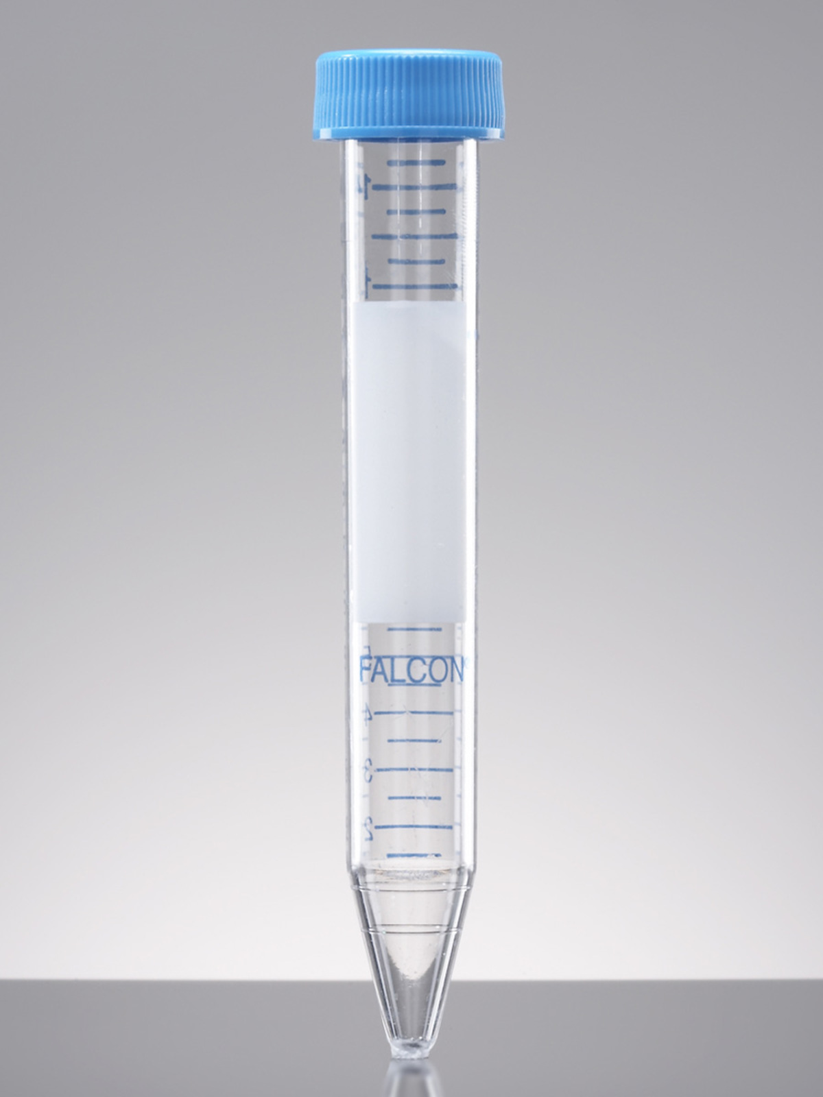 Falcon® 15 mL Polystyrene Centrifuge Tube, Conical Bottom, with Dome Seal Screw Cap, Sterile, 50/Rack, 500/Case