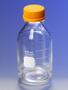 PYREX® 250 mL Round Media Storage Bottles, with GL45 Screw Cap