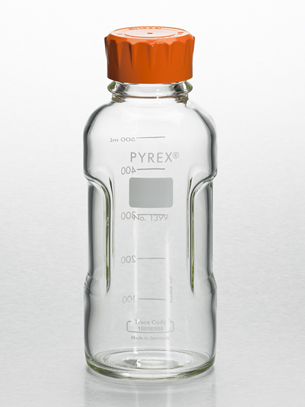 769ad31986cc PYREX® 500 mL Round Media Storage Bottles, with GL45 Screw Cap | 500 ...